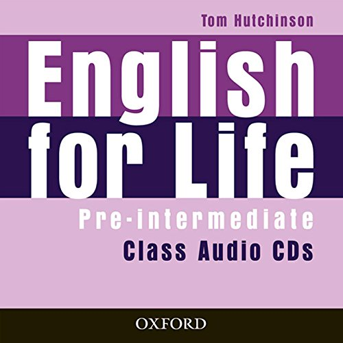 ENGLISH FOR LIFE PRE-INTERMEDIATE Audio CD