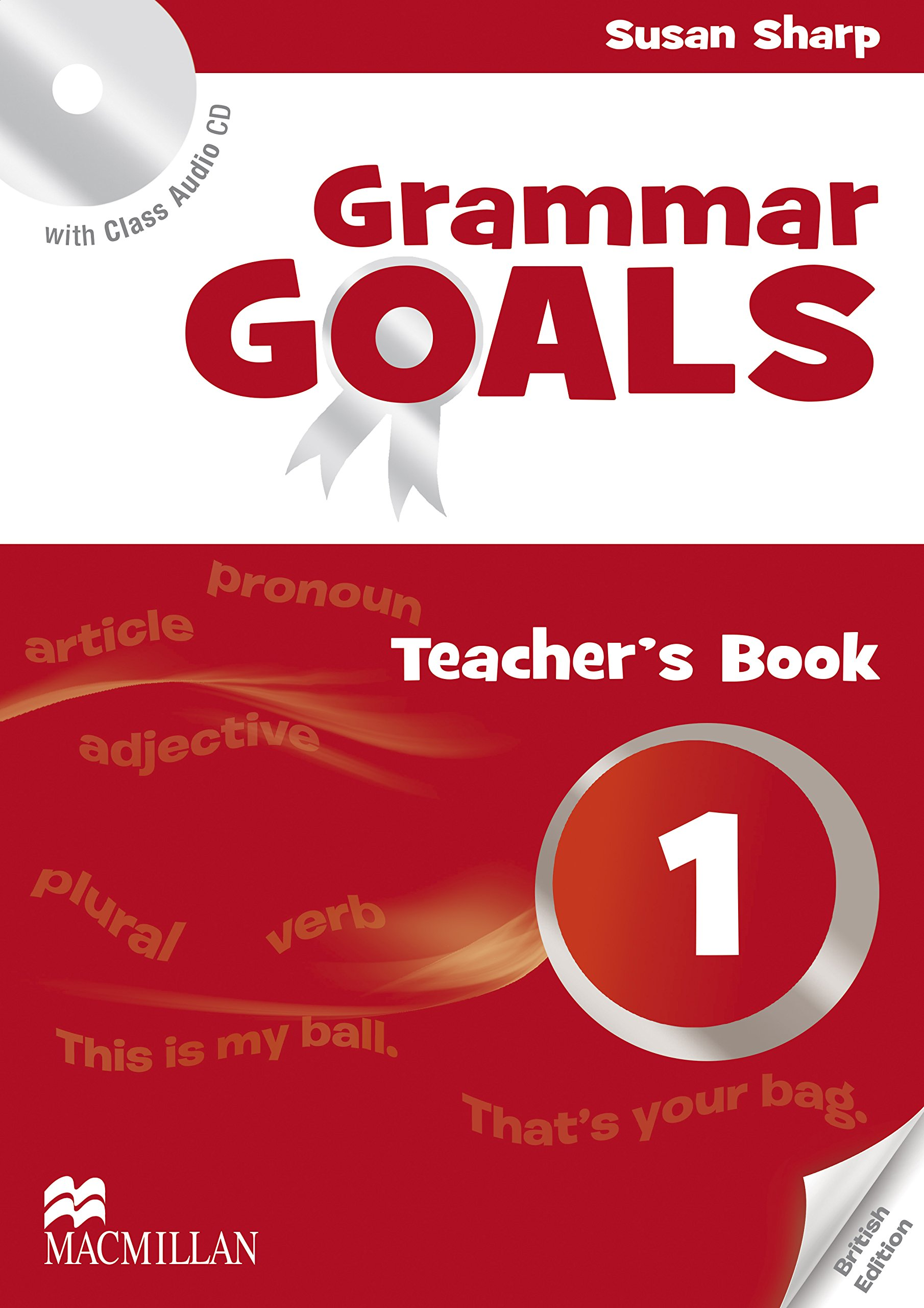 GRAMMAR GOALS 1 Teacher's Book + Class Audio CD