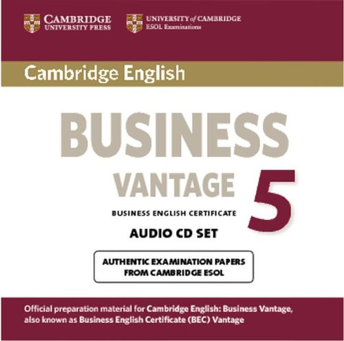 CAMBRIDGE BEC 5 VANTAGE Audio CD