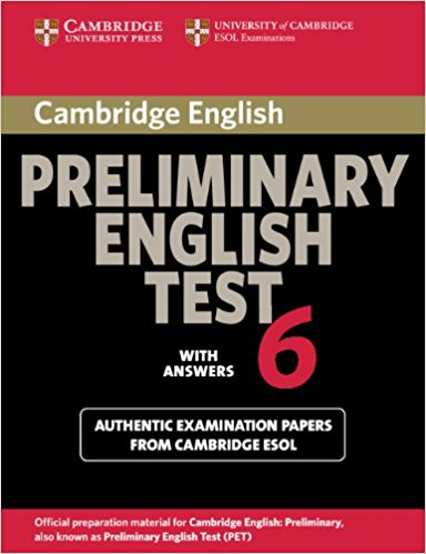 Cambridge PET 6 Student's Book with answers