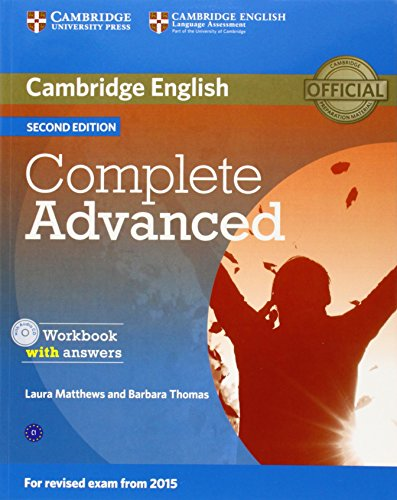 COMPLETE ADVANCED 2nd ED Workbook with Answers + Audio CD