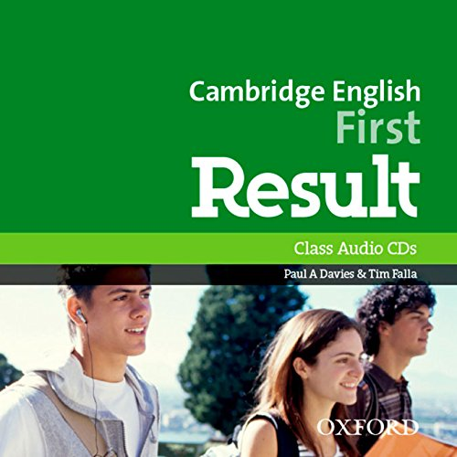 Cambridge English First Result  AudioCDs/MP3 формат (2015 exam)
