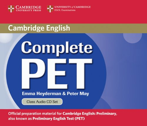 Complete PET  Class Audio CDs (2) лицензионные