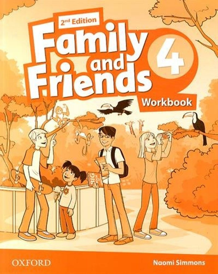 FAMILY AND FRIENDS 4 2nd ED Workbook
