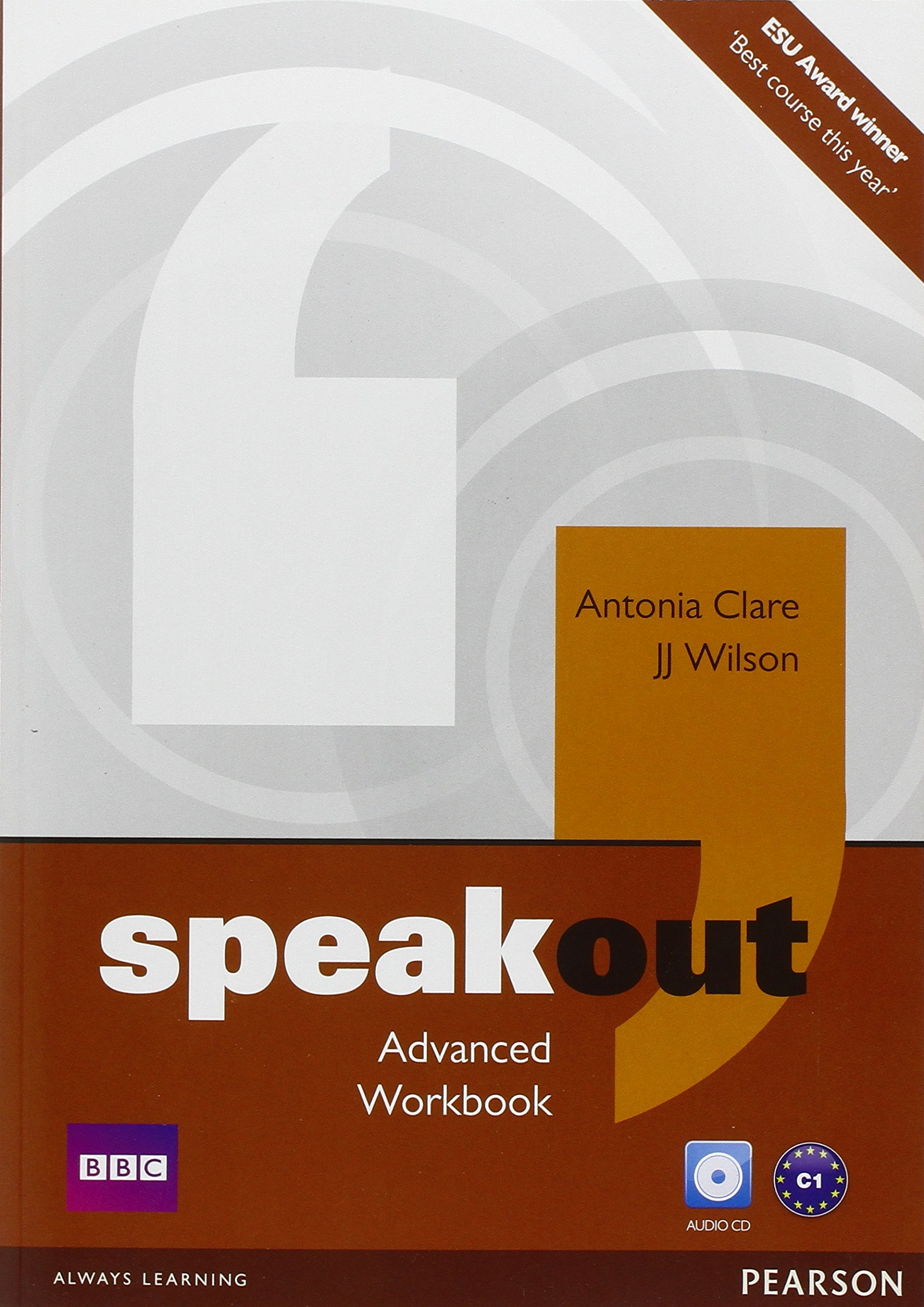 SPEAKOUT  ADVANCED Workbook without answers + Audio CD