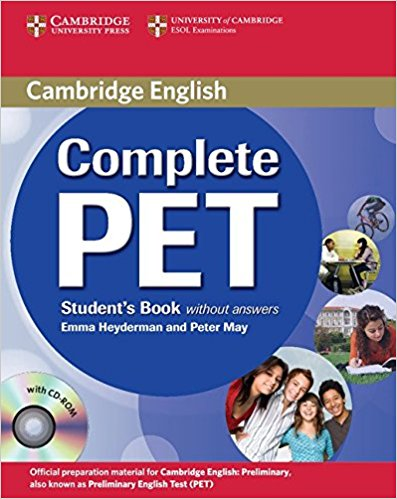 Complete PET  Student's Book without answers +CD-ROM