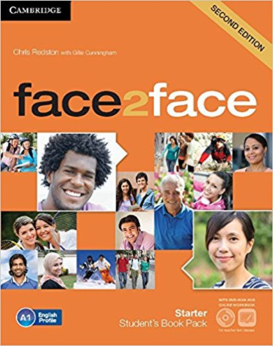 FACE 2 FACE  STARTER 2nd ED Student's Book+DVD +Online Workbook