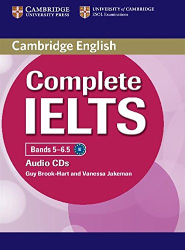 COMPLETE IELTS Bands 5-6.5 Class Audio CD (x2)