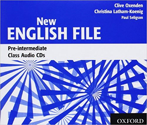NEW ENGLISH FILE PRE-INTERMEDIATE Audio CD