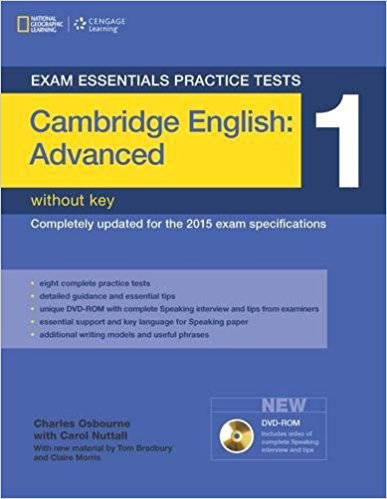 EXAM ESSENTIALS PRACTICE TESTS CAMBRIDGE ENGLISH ADVANCED 1 Student's Book without Answers + Multi-ROM