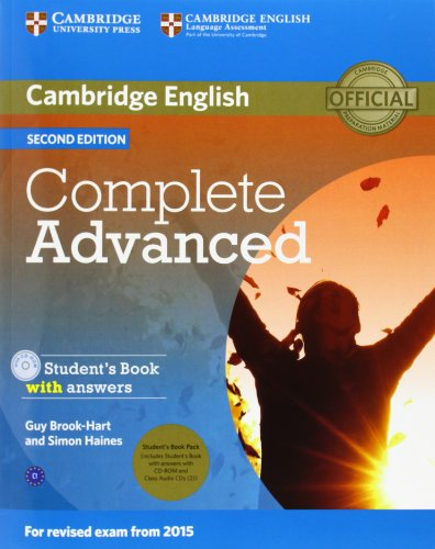 COMPLETE ADVANCED 2nd ED Student's Book with Answers + CD-ROM + Class Audio CD