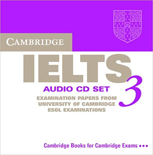 CAMBRIDGE IELTS 3 Audio CD