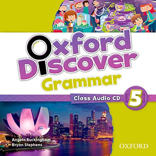 OXFORD DISCOVER 5 Grammar Audio CD