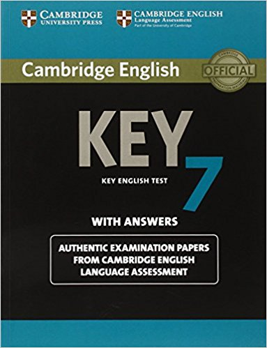 "CAMBRIDGE ENGLISH KEY 7 Student""s Book with Answers"