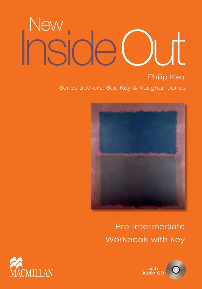 NEW INSIDE OUT Pre-Intermediate Workbook with Key + Audio CD