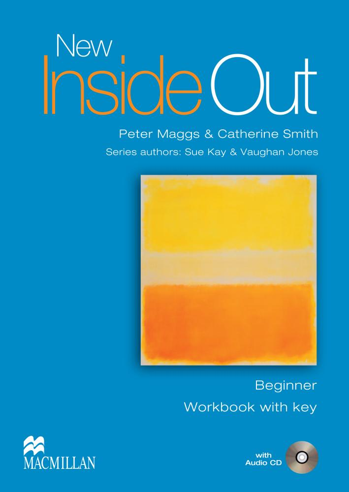 NEW INSIDE OUT Beginner Workbook with Key + Audio CD