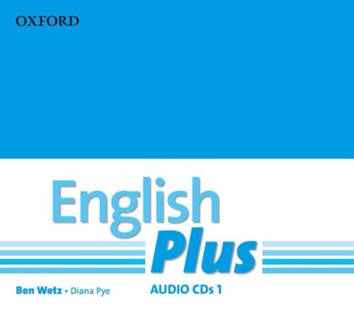 ENGLISH PLUS 1 Class Audio CD (x3)