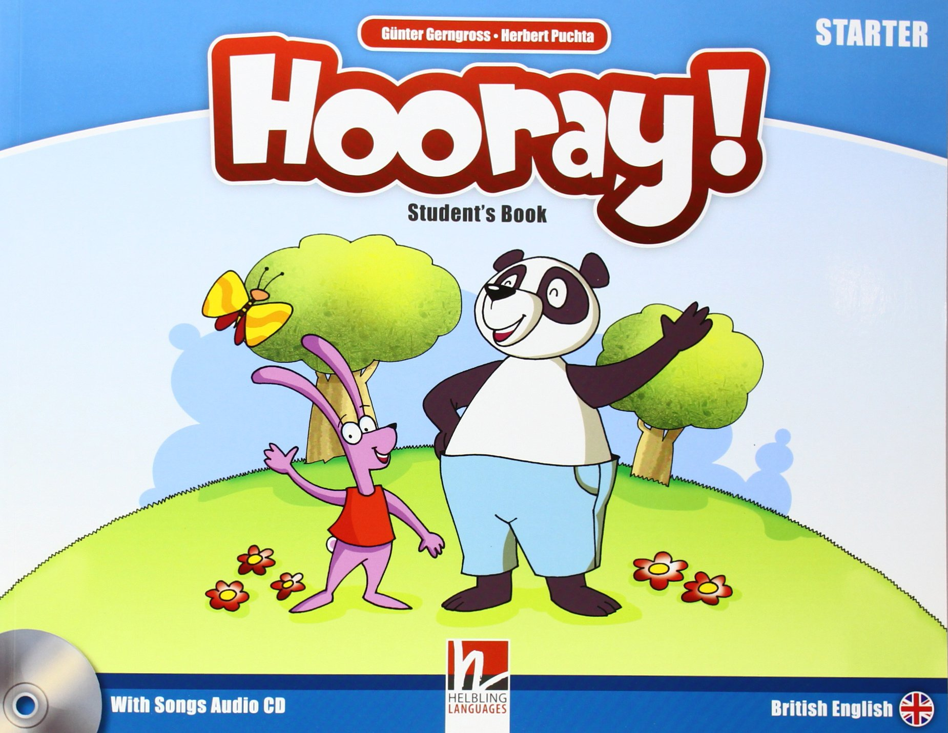 HOORAY! LET'S PLAY! Starter Student's Book+Audio CD