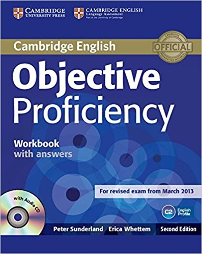 OBJECTIVE PROFICIENCY 2nd ED  Workbook with answers +AudioCD