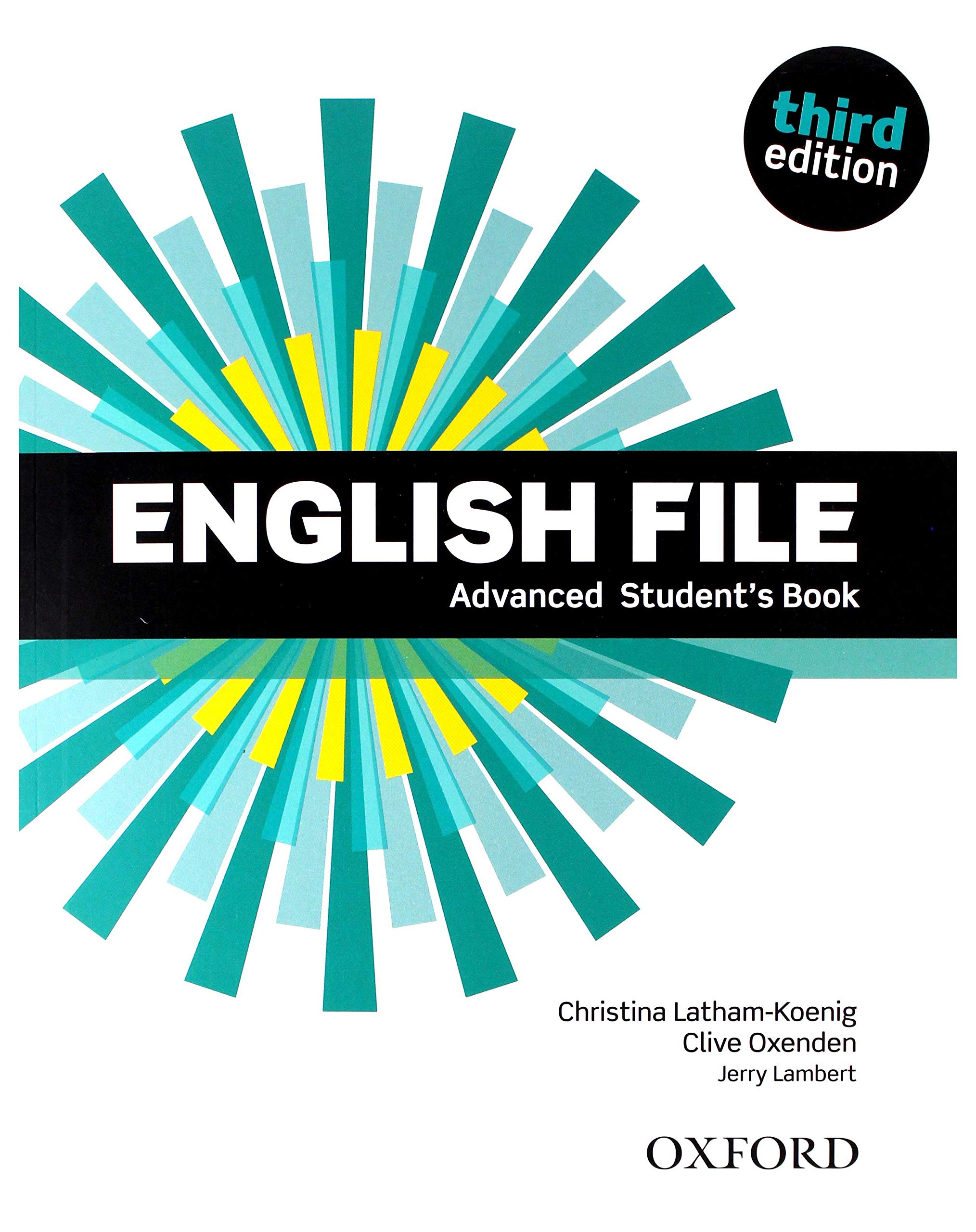 ENGLISH FILE ADVANCED 3rd ED Student's Book