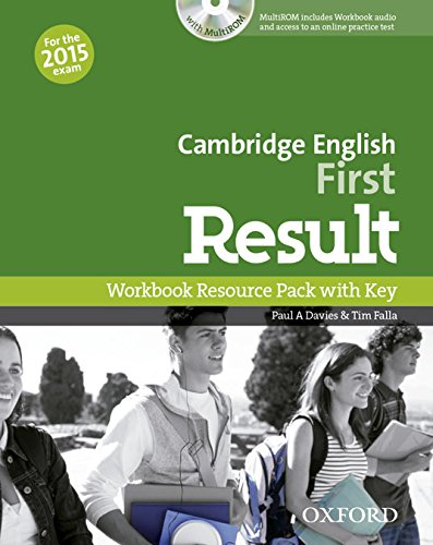 Cambridge English First Result  Workbook with answers + MultiROM 2015