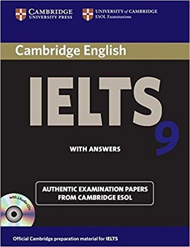 CAMBRIDGE IELTS 9 Student's Book with Answers + Audio CD