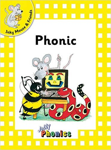 JOLLY PHONICS Readers - L2 Inky & Friends (pack of 6)