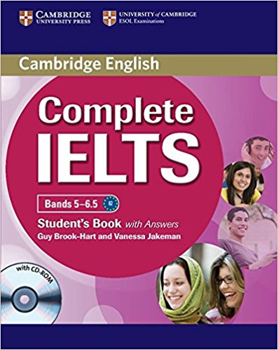 COMPLETE IELTS Bands 5-6.5 Student's Book with Answers + CD-ROM + Audio CD