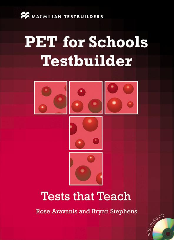 PET For Schools Testbuilder Student's Book with answers +AudioCD