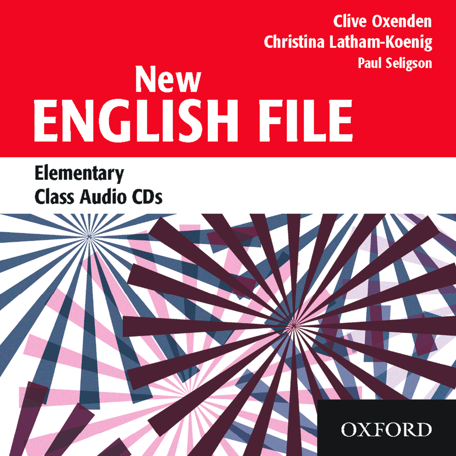 NEW ENGLISH FILE ELEMENTARY Audio CD