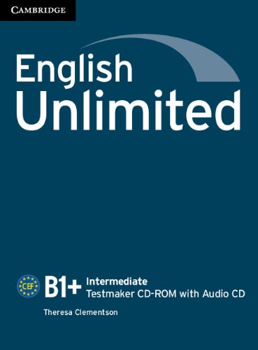ENGLISH UNLIMITED INTERMEDIATE Testmaker CD-ROM +Audio CD