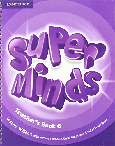 SUPER MINDS 6 Teacher's Resource Book+Audio CD