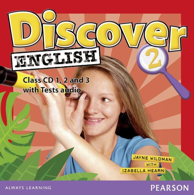 DISCOVER ENGLISH GLOBAL 2 Class Audio CD (x4)
