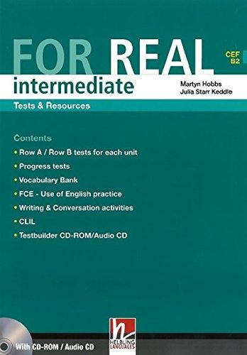 FOR REAL INTERMEDIATE Tests and Resources Book + CD-ROM/Audio CD