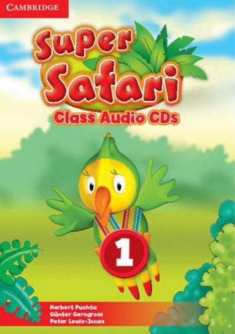 SUPER SAFARI 1 Class Audio CD