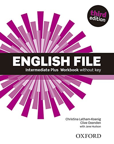 ENGLISH FILE INTERMEDIATE PLUS 3rd ED Workbook without Key
