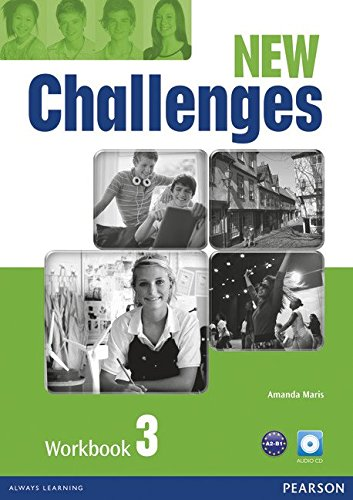 CHALLENGES NED 3 Workbook + Audio CD Pack