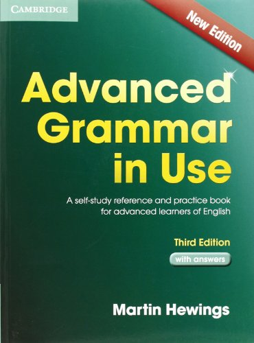ADVANCED GRAMMAR IN USE 3rd ED Book with Answers