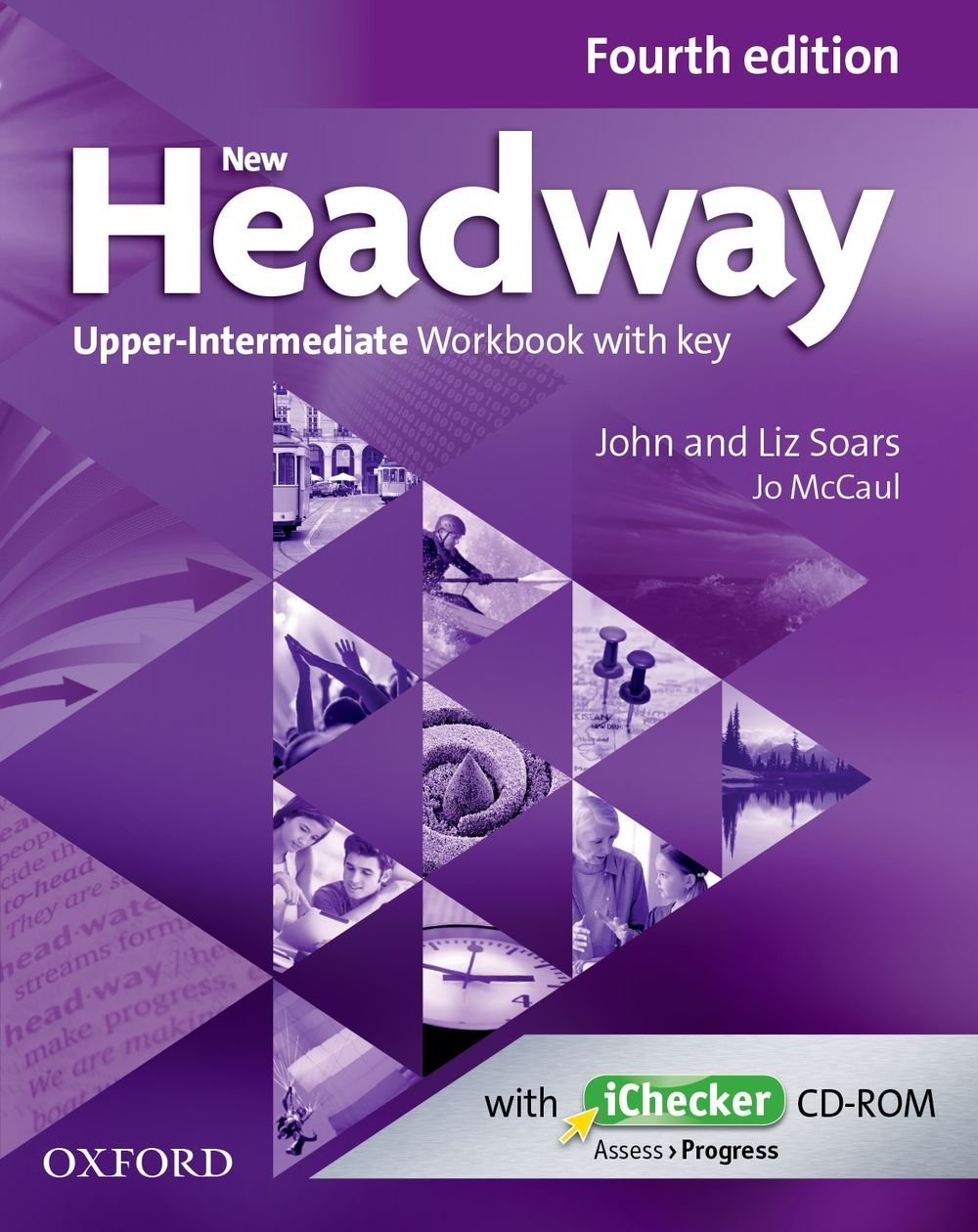 NEW HEADWAY UPPER-INTERMEDIATE 4th ED Workbook with Key + iChecker