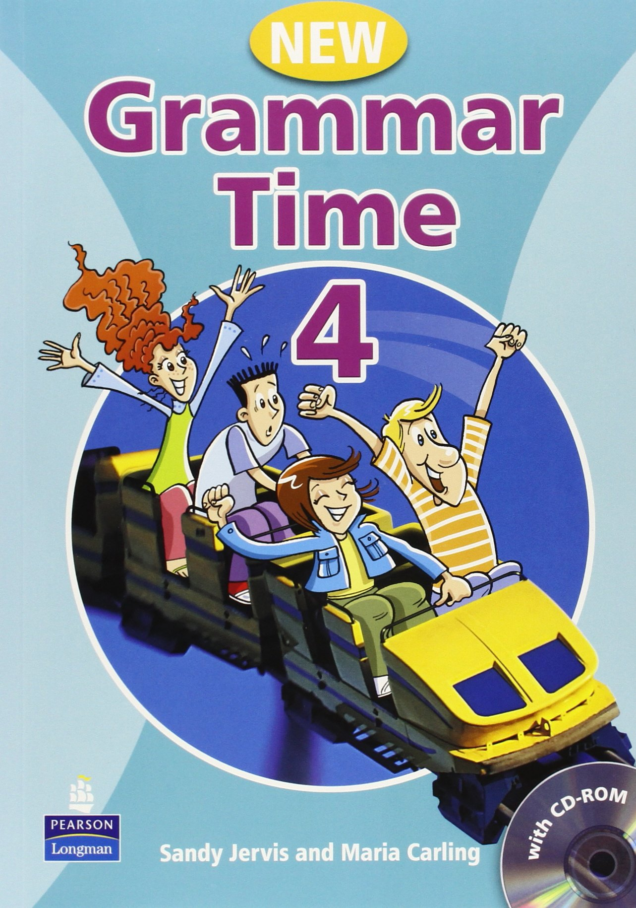 GRAMMAR TIME New ED  4 Student's Book + CD-ROM