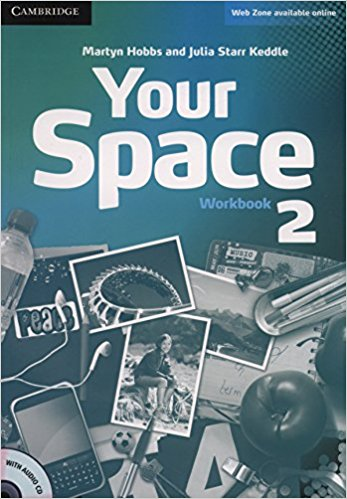 YOUR SPACE 2 Workbook + Audio CD