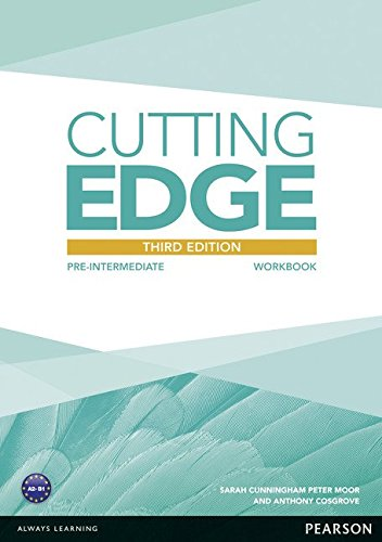 CUTTING EDGE PRE-INTERMEDIATE 3rd ED Workbook without answers