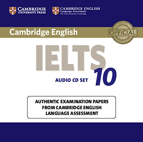 CAMBRIDGE IELTS 10 Audio CD