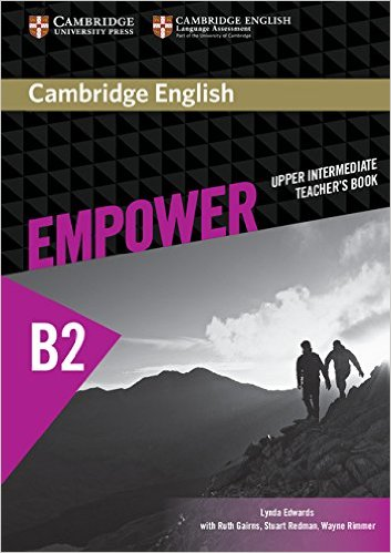 CAMBRIDGE ENGLISH EMPOWER UPPER-INTERMEDIATE Teacher`s Book