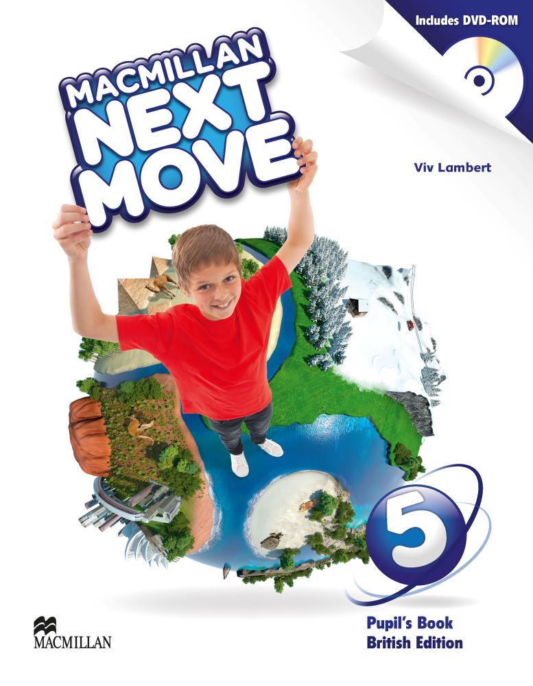 NEXT MOVE 5 Student's Book + DVD-ROM