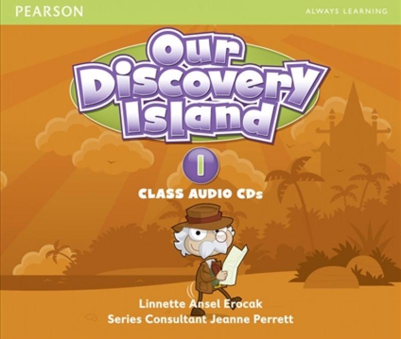 OUR DISCOVERY ISLAND 1 Class Audio CD (x3)