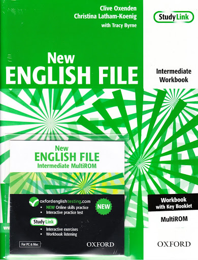 NEW ENGLISH FILE INTERMEDIATE Workbook with Key + MultiROM
