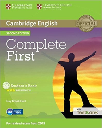Complete First 2nd Ed Student's Book with answers + CD-ROM +Testbank