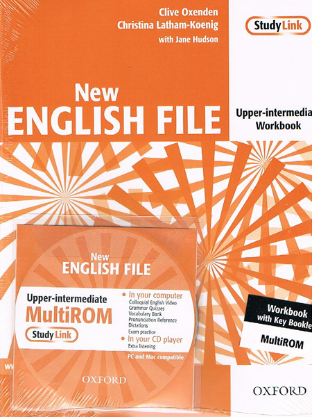 NEW ENGLISH FILE UPPER-INTERMEDIATE Workbook with Key + MultiROM