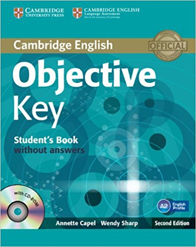 OBJECTIVE KEY 2nd ED Student's Book without Answers + CD-ROM